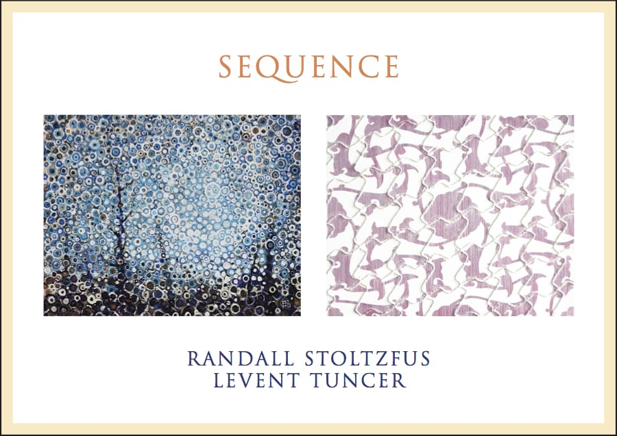 Sequence Postcard Randall Stoltzfus and Levent Tuncer at Blank Space