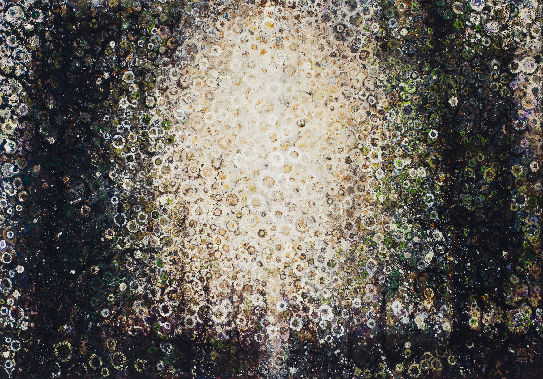 """""""Scarab"""" by Randall Stoltzfus, 2012, oil on linen, 21x 30 inches"""