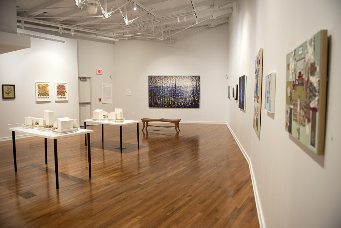 View of the exhibition Next Chapter at Chautauqua Institute