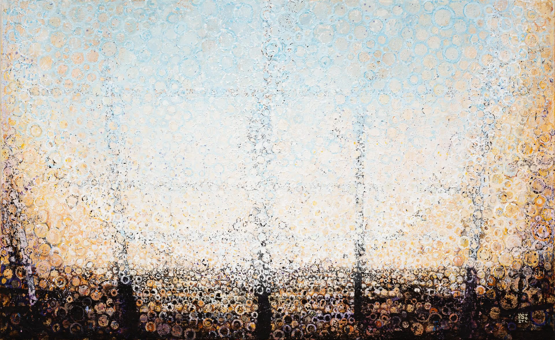 The Feeling of a Wide Open Space | The painting Above by Randall Stoltzfus