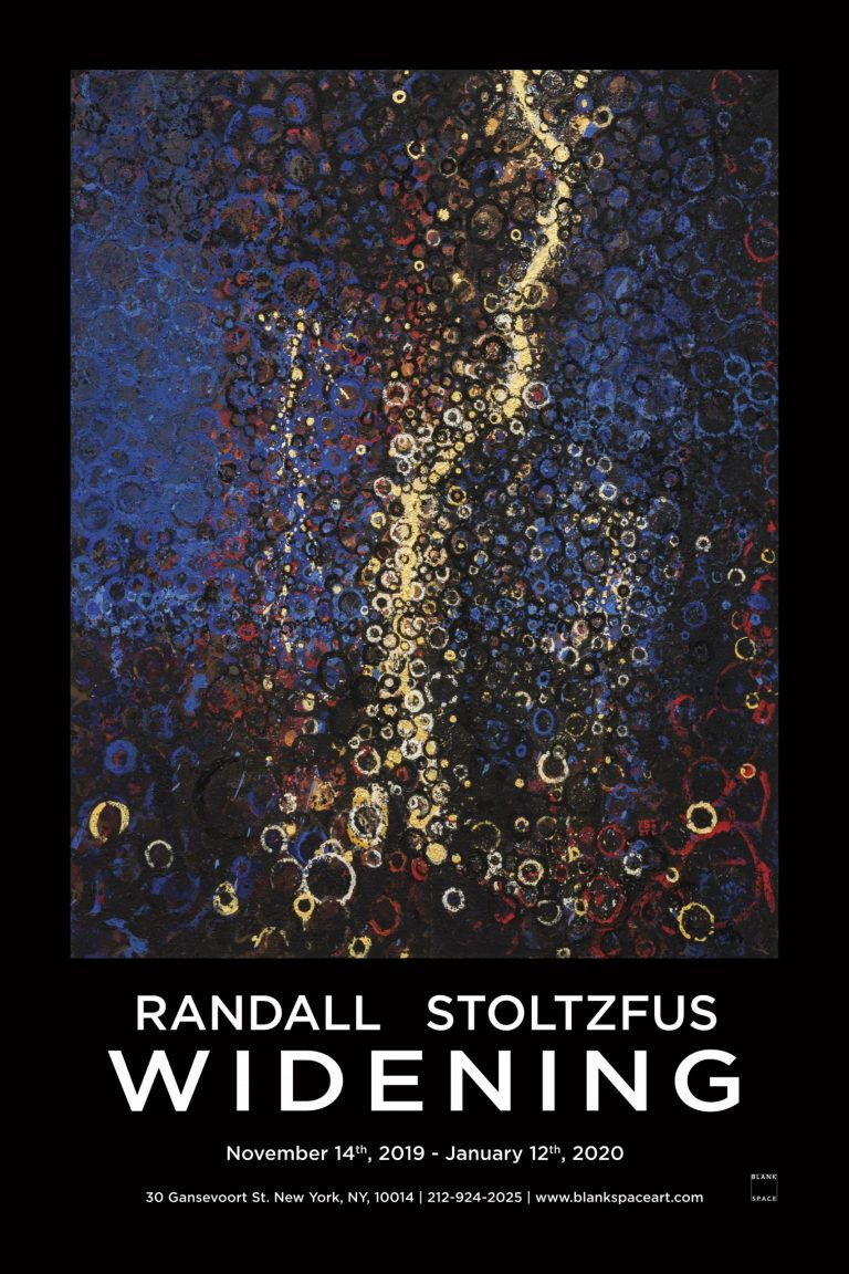 Widening Poster Randall Stoltzfus at Blank Space