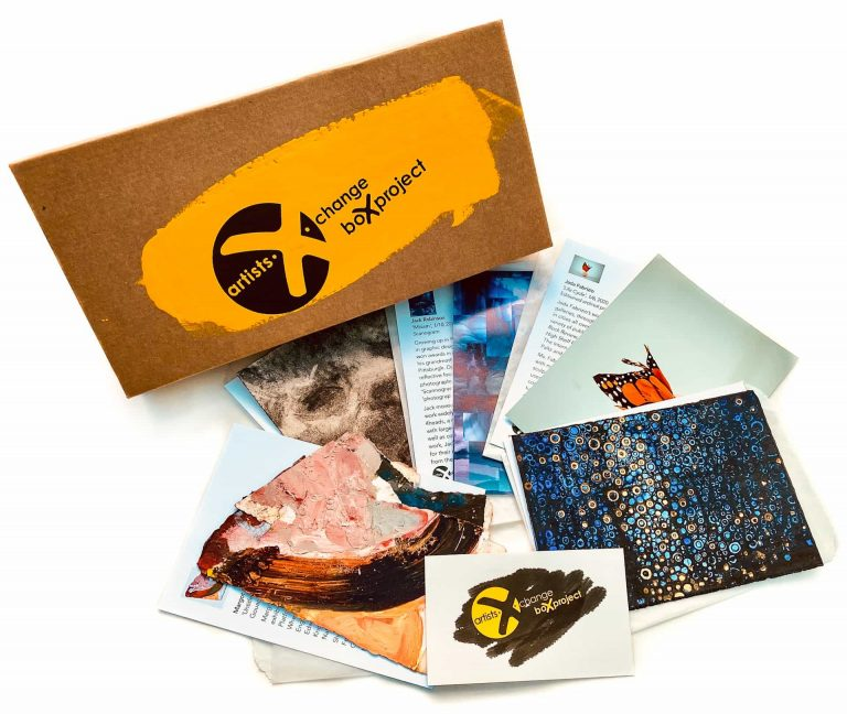 The BoX Project by artists X change with print by Randall Stoltzfus opt
