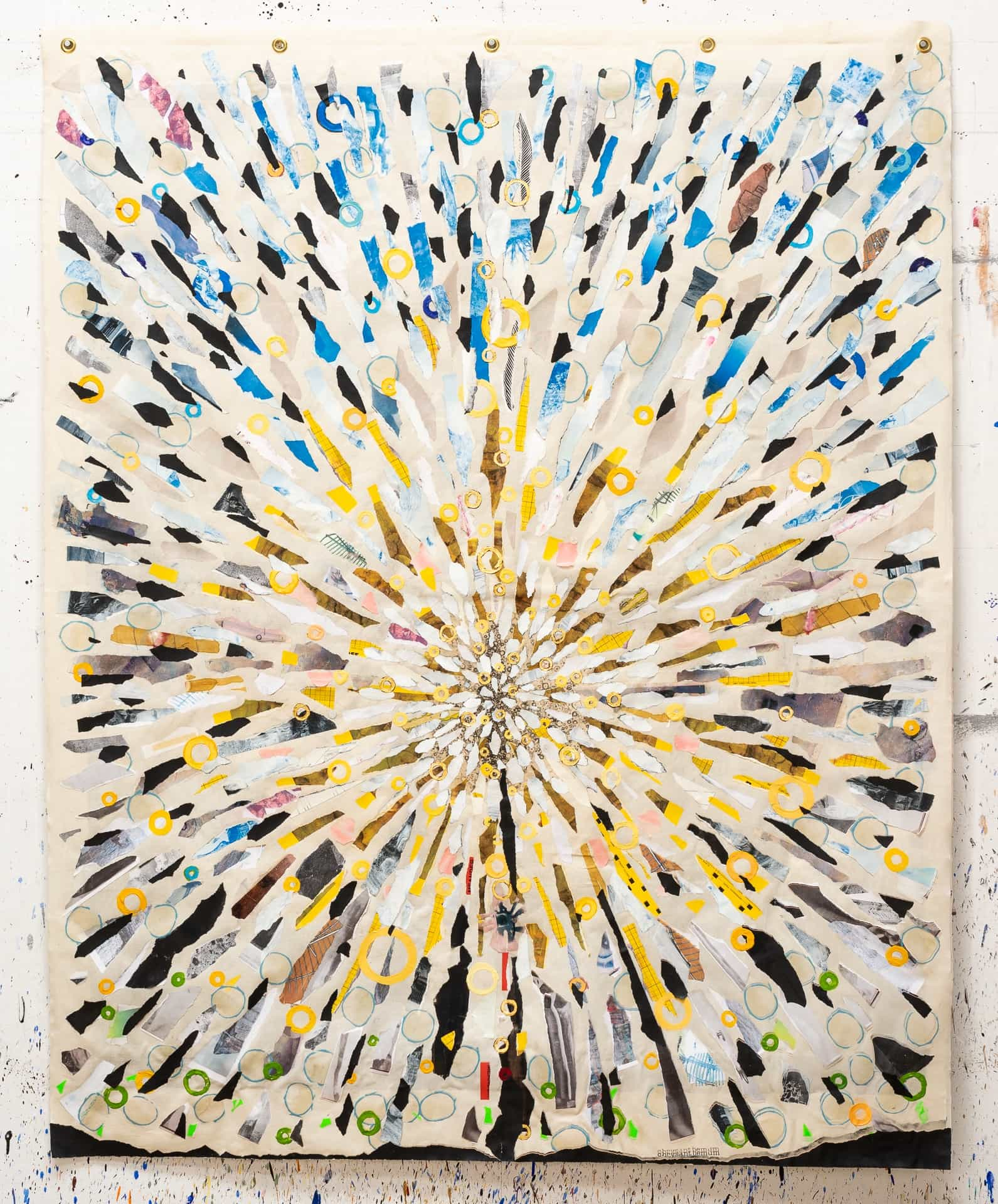 """""""Fill"""" verso (chrysanthemum) by Randall Stoltzfus 